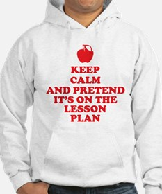Keep Calm Teachers Hoodie