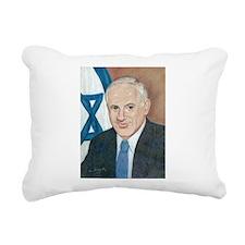 Netanyahu Rectangular Canvas Pillow