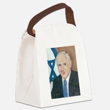 Netanyahu Canvas Lunch Bag