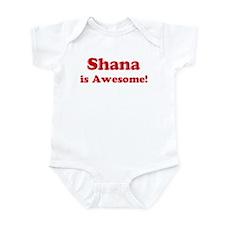 Shana is Awesome Infant Bodysuit