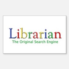 Librarian Decal