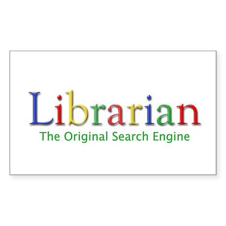 Librarian Sticker (Rectangle)