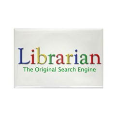 Librarian Rectangle Magnet (10 pack)