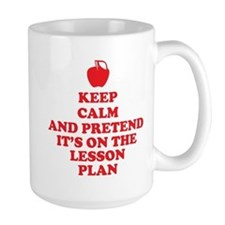 Keep Calm Teachers Mug