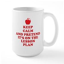 Keep Calm Teachers Mug