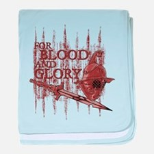For Blood and Glory baby blanket