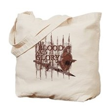 For Blood and Glory Tote Bag