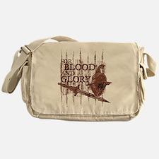 For Blood and Glory Messenger Bag