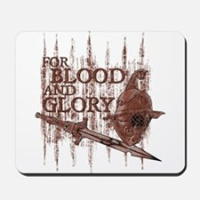For Blood and Glory Mousepad