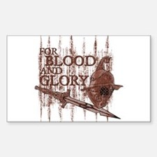 For Blood and Glory Decal