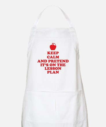 Keep Calm Teachers Apron