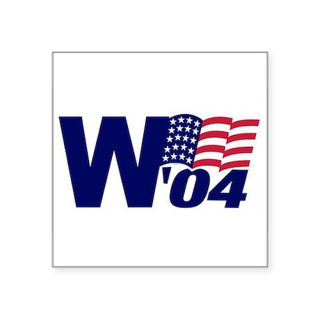 W04 Oval Sticker