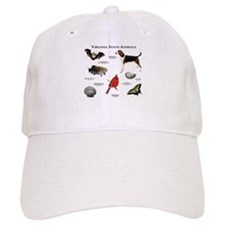 Virginia State Animals Baseball Cap