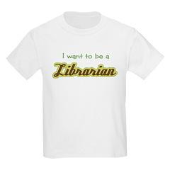Librarian (Script) Kids T-Shirt