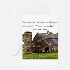 God Made a Farmer Greeting Cards (Pk of 20)