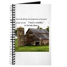 God Made a Farmer Journal