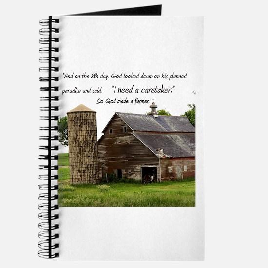 God Made a Farmer Journal