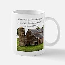 God Made a Farmer Mug