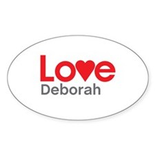 I Love Deborah Decal