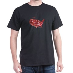Red Love T-Shirt (with Logo)