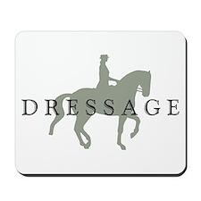 Piaffe w/ Dressage Text Mousepad
