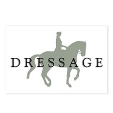 Piaffe w/ Dressage Text Postcards (Package of 8)
