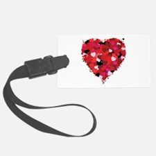Lots Of Love Heart Luggage Tag