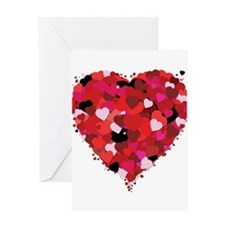 Lots Of Love Heart Greeting Card