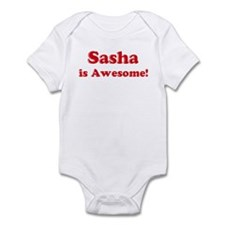 Sasha is Awesome Infant Bodysuit