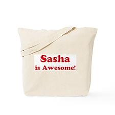 Sasha is Awesome Tote Bag