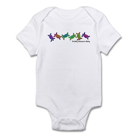 Turtlely Awesome Baby Infant Bodysuit