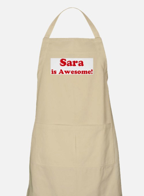 Sara is Awesome BBQ Apron