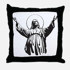DON'T BE A DICK -JESUS Throw Pillow