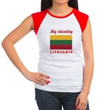 My Identity Lithuania Women's Cap Sleeve T-Shirt