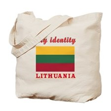 My Identity Lithuania Tote Bag