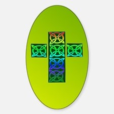 Celtic Cross of Celtic Knots Decal