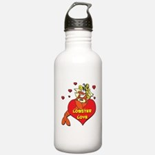 Lobster Love Water Bottle