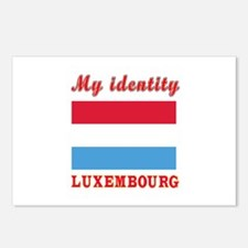 My Identity Luxembourg Postcards (Package of 8)