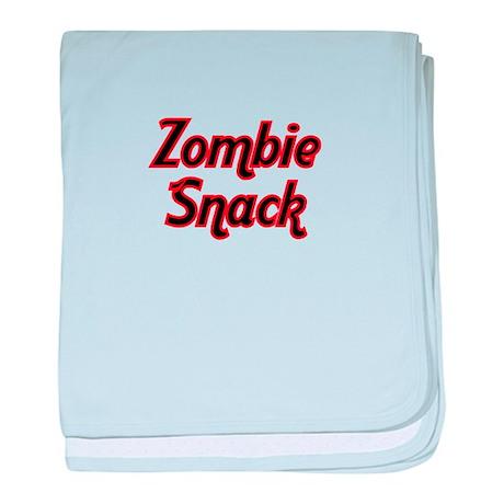 Zombie Snack baby blanket