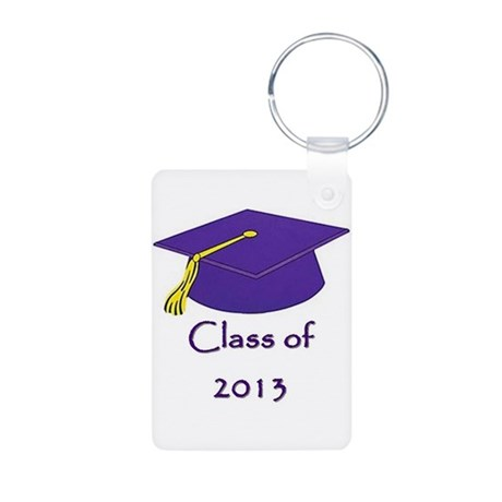 Class of 2013 Gift - 2 Sided Graduation Keychain