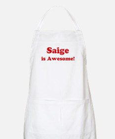 Saige is Awesome BBQ Apron