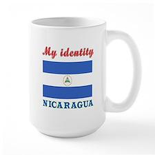 My Identity Nicaragua Mug
