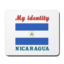 My Identity Nicaragua Mousepad
