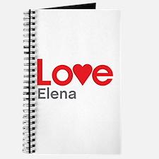 I Love Elena Journal