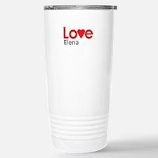 I Love Elena Travel Mug