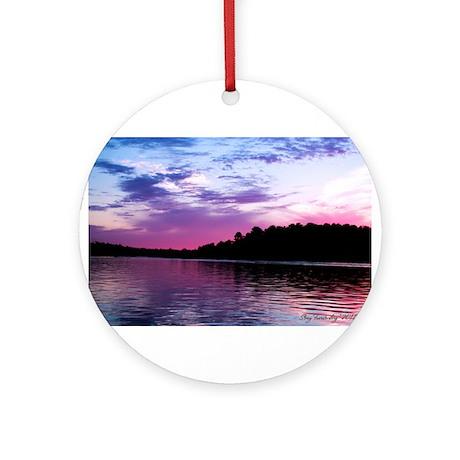 Minnesota Sunset #1 Ornament (Round)