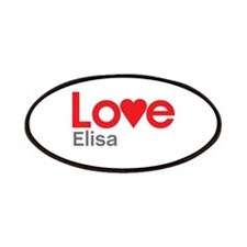 I Love Elisa Patches