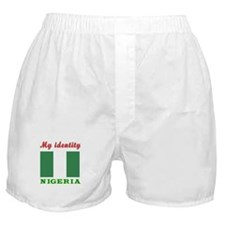 My Identity Nigeria Boxer Shorts