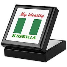 My Identity Nigeria Keepsake Box