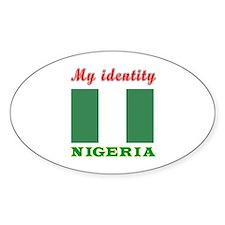 My Identity Nigeria Decal